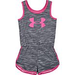 Baby Girls Under Armour Big Logo Tornado Romper