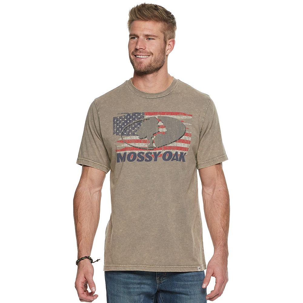 Men's Mossy Oak Ole' Glory Tee