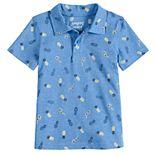 Baby Boy Jumping Beans® Printed Polo Shirt