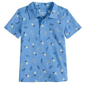 Baby Boy Jumping Beans® Printed Polo Shirt