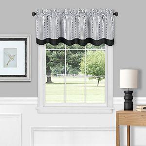 Izod Varsity Stripe Window Valance 84 X 18 Kohls