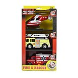 Maxx Action Lights & Sounds Mini Rescue Trucks