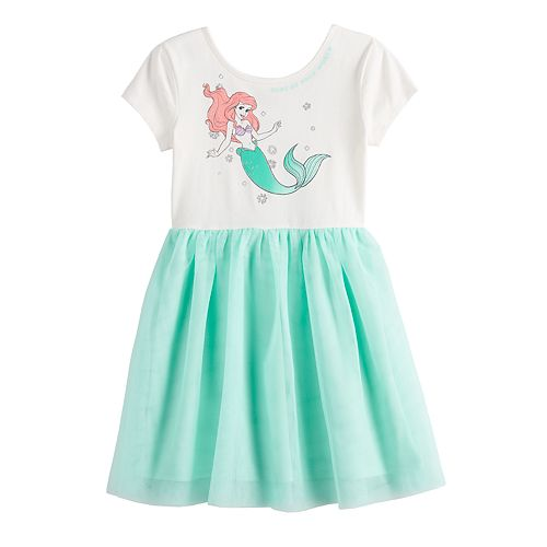 Disney's The Little Mermaid Ariel Girls 4-12 Tulle Dress by Jumping Beans®