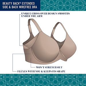 Vanity Fair Beauty Back® Full Figure Wire-Free Smoother Bra 71267