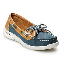 Deals on Croft & Barrow Adagio Womens Boat Shoes