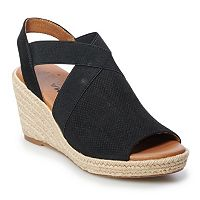 SONOMA Goods for Life Chorale Womens Wedge Sandals Deals