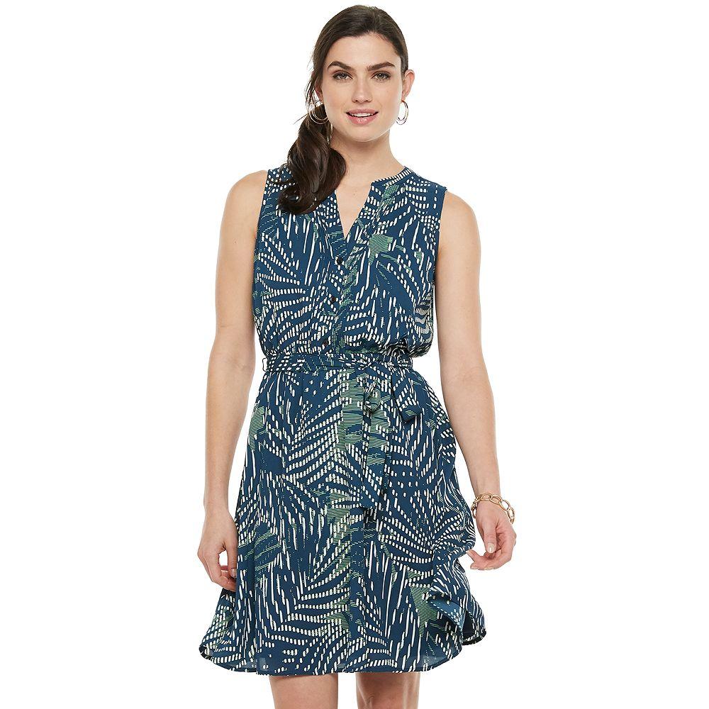 Women's Apt. 9® Pintuck Shirt Dress