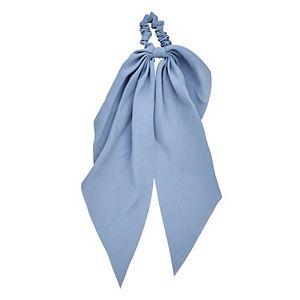 Blue Draped tail Scrunchie