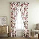 Croscill Fleur Pole Top Drapery Window Curtain