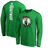 Men's Fanatics Branded Gordon Hayward Kelly Green Boston Celtics Backer Name & Number Long Sleeve T-Shirt