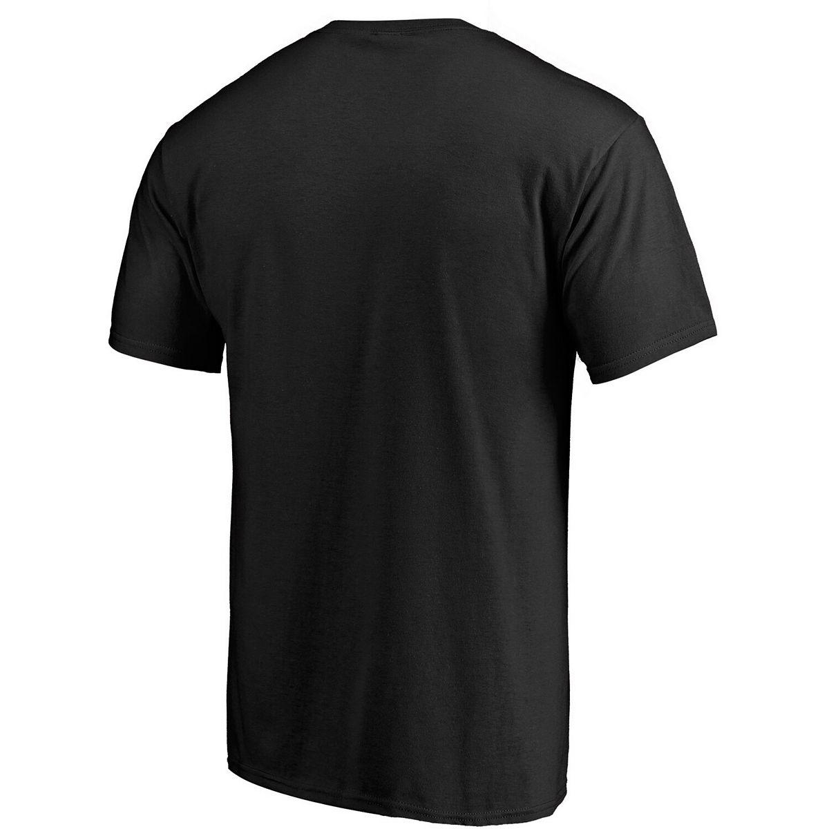 Men's Fanatics Branded Black San Antonio Spurs Team Primary Logo T-Shirt PCXEr