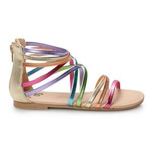 SO® Delaine Girls' Gladiator Sandals