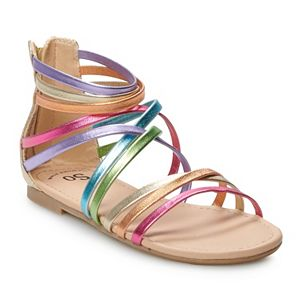 SO® Delaine Girls' Gladiator Sandals