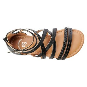 SO® Keriann Girls' Gladiator Sandals