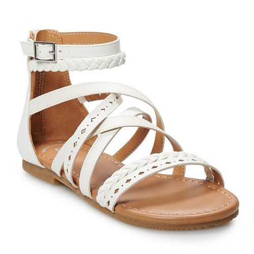 SO® Keriann Girls' Gladiator Sandals