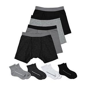 Boys 4-20 Tek Gear 8-pk. Underwear & Sock Set
