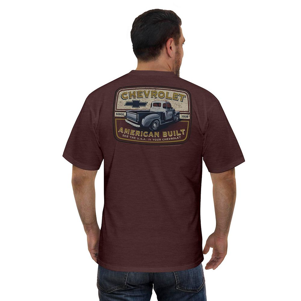 Men's Newport Blue GM Chevy Bluegrass Graphic Tee