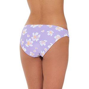Mix and Match Reversible Print Hipster Bikini Bottoms