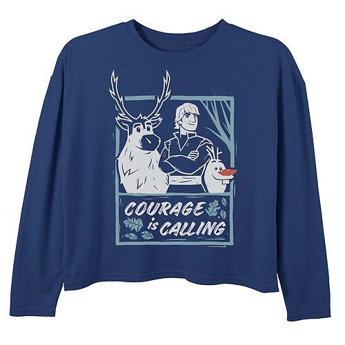 """Disney's Frozen 2 Girls 7-16 """"Courage Is Calling"""" Graphic Tee"""