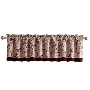 Veratex Allouette Velvet Window Valance
