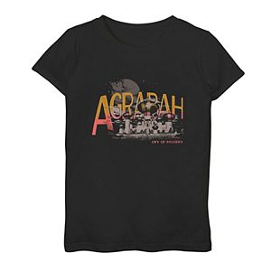 Disney's Aladdin Live Action Girls 7-16 City of Mystery Graphic Tee
