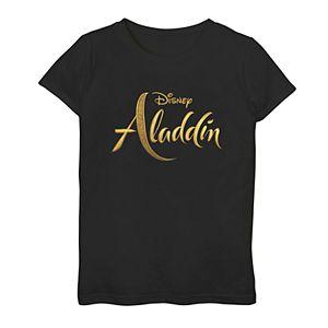 Disney's Aladdin Girls 7-16 Logo Graphic Tee