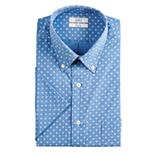 Big & Tall Croft & Barrow® Classic-Fit Easy-Care Button-Down Collar Short-Sleeved Dress Shirt