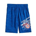 Boys 4-12 Jumping Beans® Marvel Captain America Active Shorts