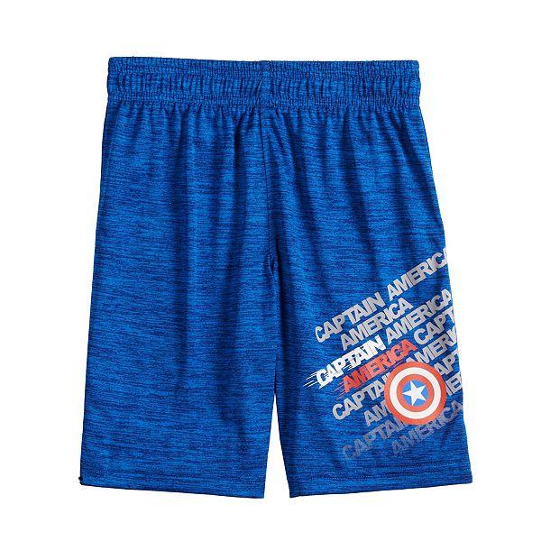 Boys 4-12 Jumping Beans® Marvel Captain America Active Shorts