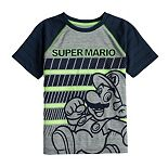 Boys 4-12 Jumping Beans® Super Mario Active Raglan Tee
