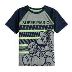Orange Size 6 Super Mario Boys Mario Kart Graphic Tee, Blue