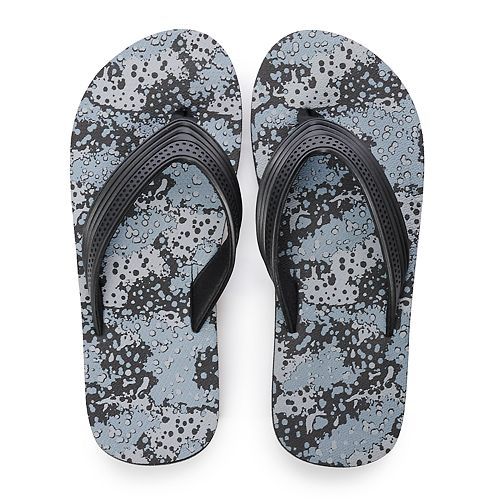 Boys Tek Gear® Printed Flip Flop Sandals