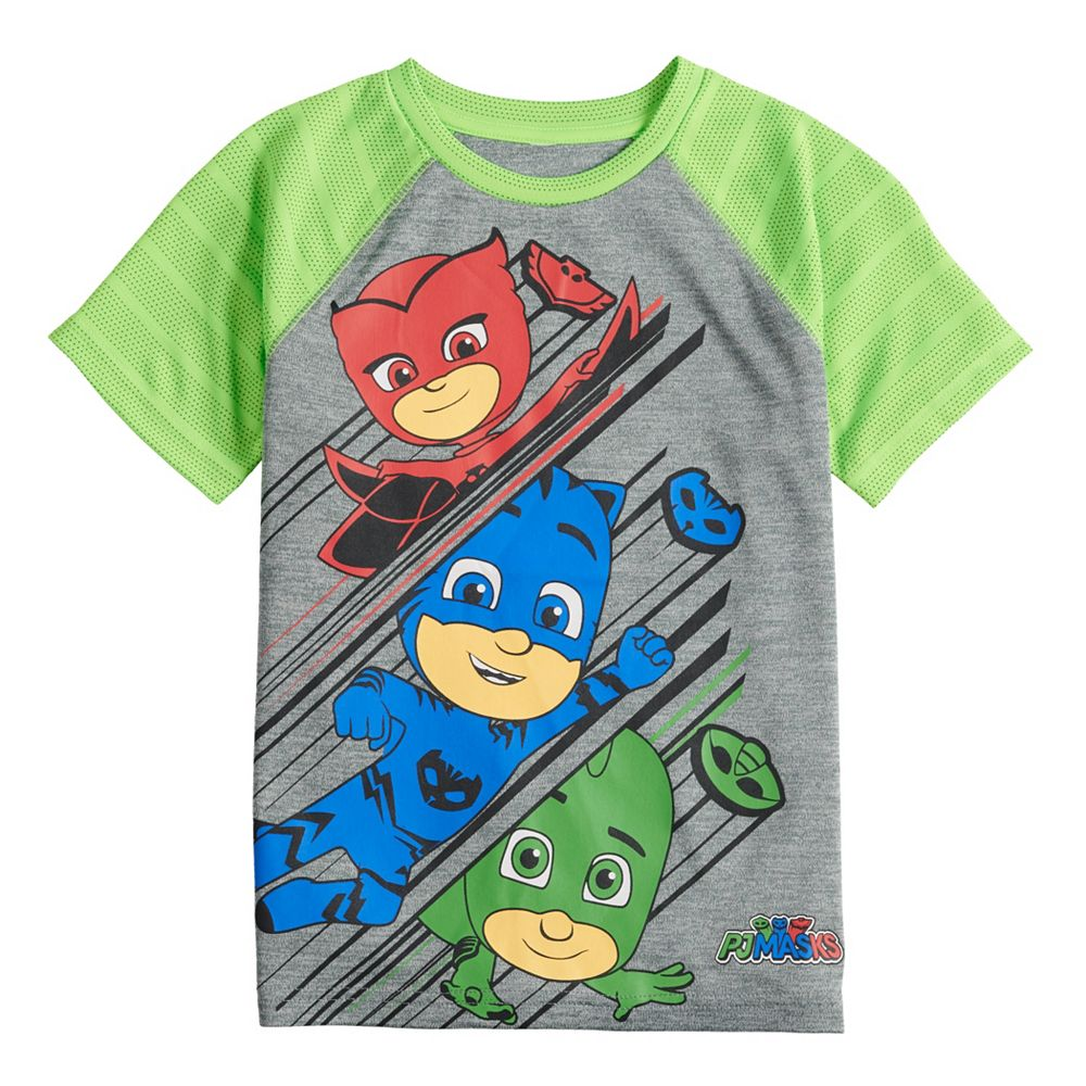 Boys 4-12 Jumping Beans® PJ Masks Active Raglan Tee
