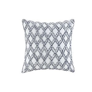 INK + IVY Zara Cotton Embroidered Oblong Pillow