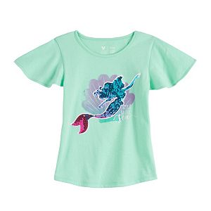 Disney Character Toddler Girl Flutter Sleeve Tee by Jumping Beans®