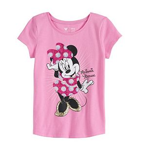 Disney Character Toddler Girl Shirttail Tee by Jumping Beans®