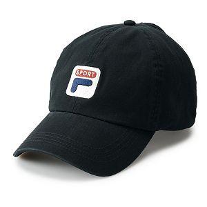 FILA SPORT Vintage Logo Baseball Cap