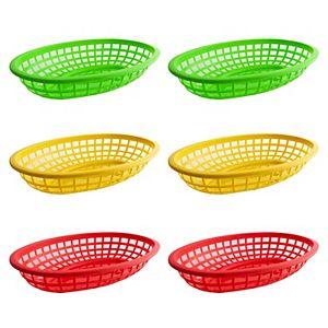 Celebrate Summer Together 6-pc. Fast Food Basket Set