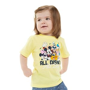 "Disney's Mickey & Friends Baby ""All Disney All Day"" Graphic Tee by Family Fun"