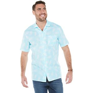 Big & Tall SONOMA Goods for Life® Camp Shirt