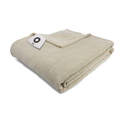 Serta 174 Microplush Electric Blanket