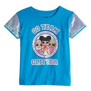 "Girls 7-16 L.O.L. Surprise ""Go Team Glitter"" Sequin Graphic Tee"