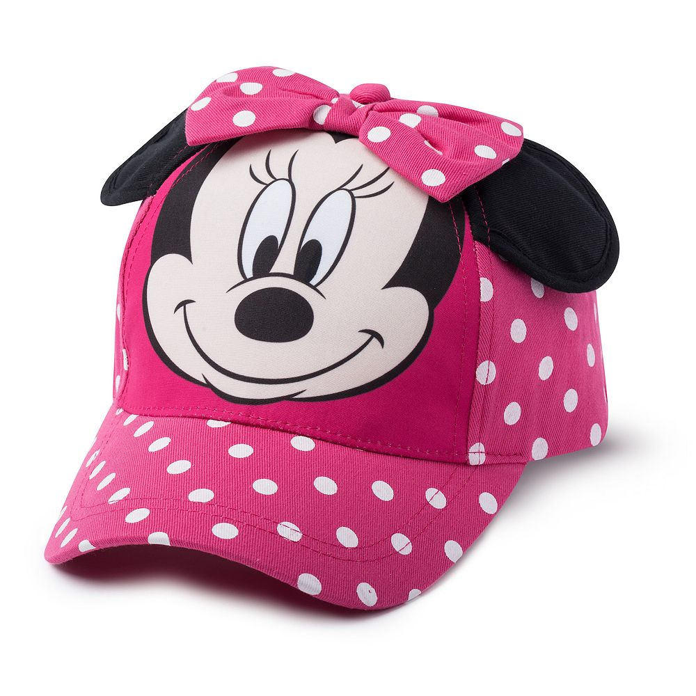 Toddler Girl Disney Minnie Mouse Hat