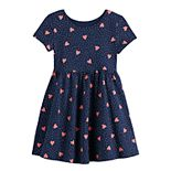 Toddler Girl Jumping Beans® Heart Skater Dress