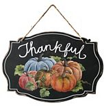 National Tree Company Fall Thankful Sign