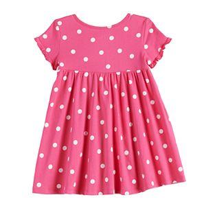 Toddler Girl Jumping Beans® Ruffle Babydoll Dress