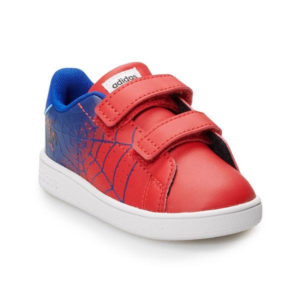 adidas Advantage Marvel's Spider-Man Toddler Boys' Sneakers