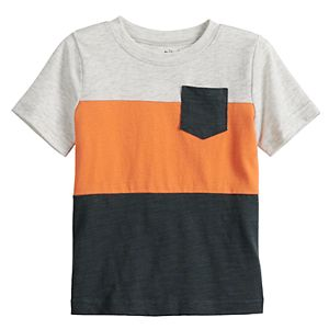 Baby Boy Jumping Beans® Colorblock Pocket Tee
