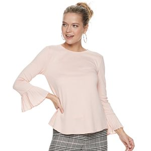 Women's ELLE? 3/4 Bell Sleeve Blouse
