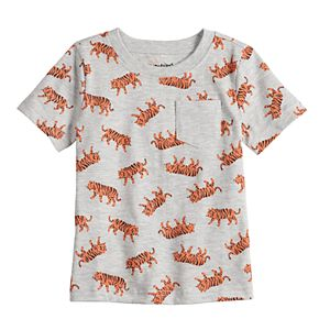 Baby Boy Jumping Beans® Printed Pocket Tee